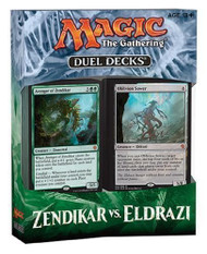 Magic the Gathering Zendikar Vs. Eldrazi Duel Deck