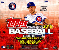 2015 Topps Update Series Baseball Jumbo Box