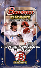 2015 Bowman Draft Picks & Prospects Baseball Jumbo HTA Box