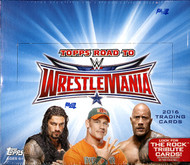 2016 Topps WWE Road To Wrestlemania Hobby Box