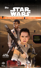 2016 Topps Star Wars The Force Awakens Series 2 Hobby Box