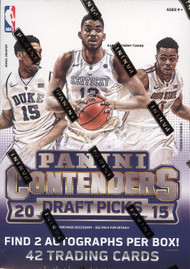 2015/16 Panini Contenders Draft Basketball Blaster Box