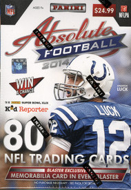 2014 Panini Absolute Memorabilia Football Blaster Box