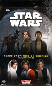 2016 Topps Star Wars Rogue One: Mission Briefing Hobby Bo