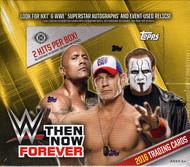 2016 Topps WWE Then, Now, Forever Wrestling Hobby Box