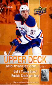 2016/17 Upper Deck Series 1 Hockey Hobby Box