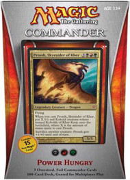 2013 Magic the Gathering Commander Power Hungry Sealed Deck