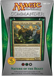 2013 Magic the Gathering Commander Nature Of The Beast Sealed Deck