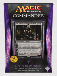2014 Magic the Gathering Commander Sworn To Darkness Sealed Deck