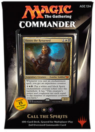 2015 Magic the Gathering Commander Call The Spirits Sealed Deck