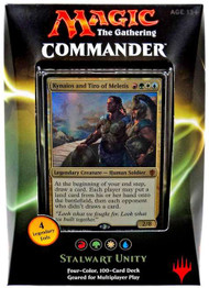 2016 Magic the Gathering Commander Stalwart Unity Sealed Deck