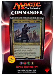 2016 Magic the Gathering Commander Open Hostility Sealed Deck