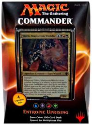 2016 Magic the Gathering Commander Entropic Uprising Sealed Deck