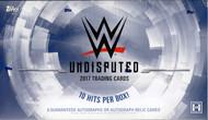 2017 Topps WWE Undisputed Hobby Box
