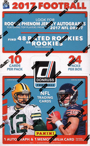 2017 Panini Donruss Football Hobby Box