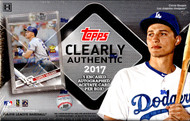 2017 Topps Clearly Authentic Baseball Box