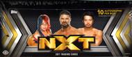 2017 Topps WWE NXT Hobby Box