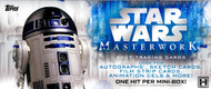 2017 Topps Star Wars Masterwork Hobby 8 Box Case