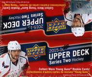 2015/16 Upper Deck Series 2 Hockey Retail Box