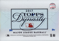 2017 Topps Dynasty Baseball Hobby 5 Box Case