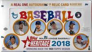 2018 Topps Heritage Hobby 12 Box Case