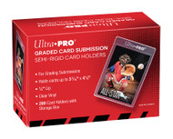 "Ultra Pro Semi Rigid 1/2"" Lip Tall Sleeves 200ct"