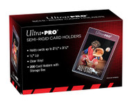 "Ultra Pro Semi-Rigid 1/2"" Lip Sleeves 200ct"