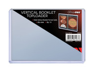 Ultra Pro Vertical Booklet Toploader 10ct