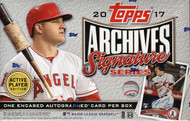 2017 Topps Archives Signature Series Baseball 20 Box Case