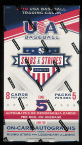 2018 Panini USA Stars and Stripes Baseball Hobby Box