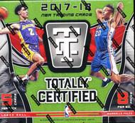 2017-18 Panini Totally Certified Basketball Hobby Box