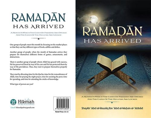 Ramadan Has Arrived By Shaykh Abdur Razzaq Al-Abbaad