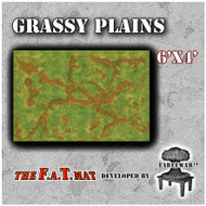 6x4 'Grassy Plains' F.A.T. Mat Gaming Mat