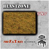 6x4 'Blast Zone' F.A.T. Mat Gaming Mat