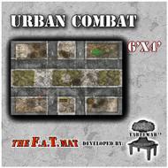 6x4 'Urban Combat' F.A.T. Mat Gaming Mat