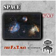 6x4 'Space' F.A.T. Mat Gaming Mat