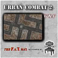 6x4 'Urban Combat 2' F.A.T. Mat Gaming Mat