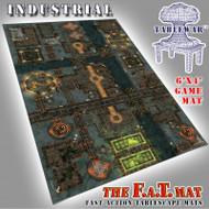 6x4 'Industrial' F.A.T. Mat Gaming Mat
