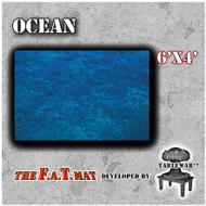 6x4 'Ocean' F.A.T. Mat Gaming Mat