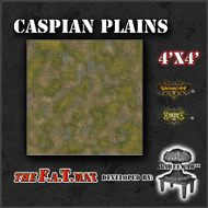 4x4 'Caspian Plains' Privateer Press branded F.A.T. Mat Gaming Mat
