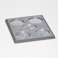 5x50mm Unit Tray - 3 pieces (Bottom Unit Tray, Tin, & 5x50mm Topper)