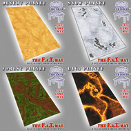 6x3 'Planet' series Bundle F.A.T. Mat Gaming Mat