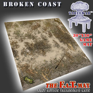 "30x30"" 'Broken Coast' Privateer Press branded F.A.T. Mat"