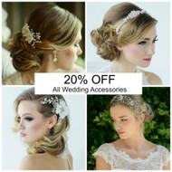 20% Wedding Accessories Special Offer - 2 days only