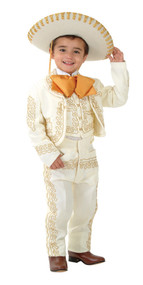 Sutach  embroidered charro suit