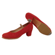 Flamenco suede shoes