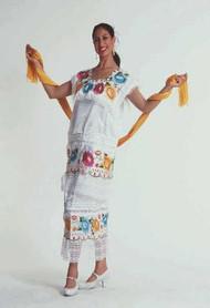 Yucatan Dress- Vestido Yucatan