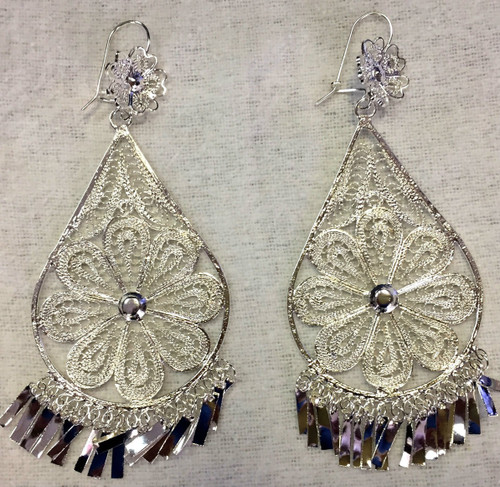 Filigrana Earing Silver Large