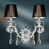 Renata II Crystal Wall Lamp