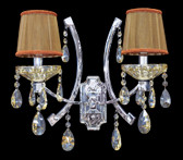 Wall Lamp - Crystal Wall Sconce - Rovigo II